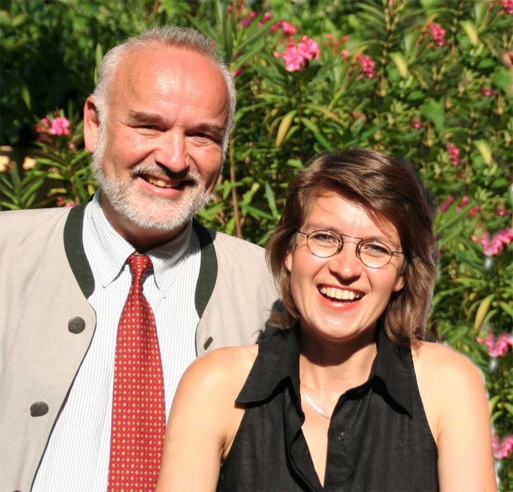 Foto des MediatorInnenteams Peter Adler, Gerda Ruppi-Lang (c) 2007 Dr.Martin Lang