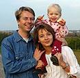 Bild einer Familie mit Kind